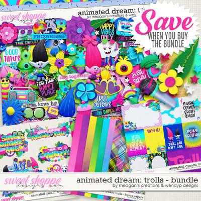 Animated Dream: Trolls Bundle by Meagan's Creations and WendyP Designs