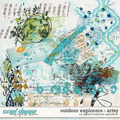 Outdoor Explorers | Artsy by Digital Scrapbook Ingredients