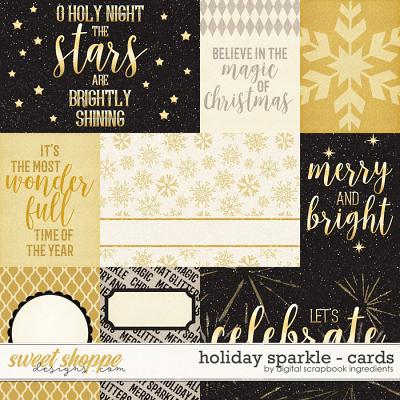 Holiday Sparkle   Cards by Digital Scrapbook Ingredients