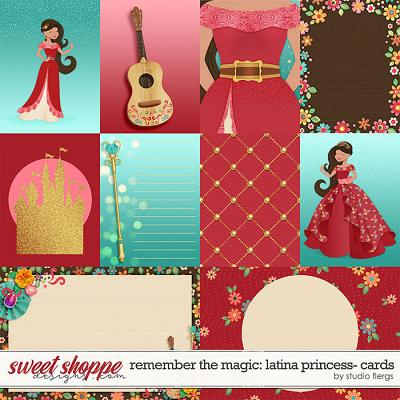 Remember the Magic: LATINA PRINCESS- CARDS by Studio Flergs
