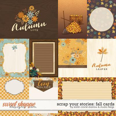 Scrap Your Stories: Fall- CARDS by Studio Flergs & Kristin Cronin-Barrow