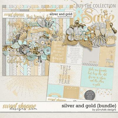 Silver and Gold Bundle by Ponytails