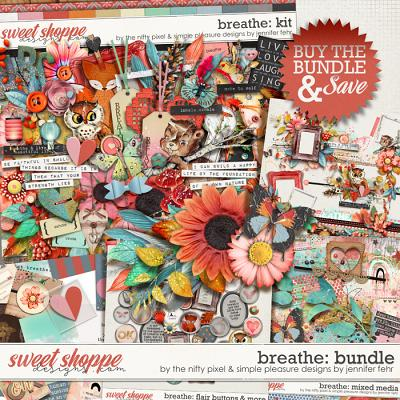 BREATHE BUNDLE by Simple Pleasure Designs & The Nifty Pixel