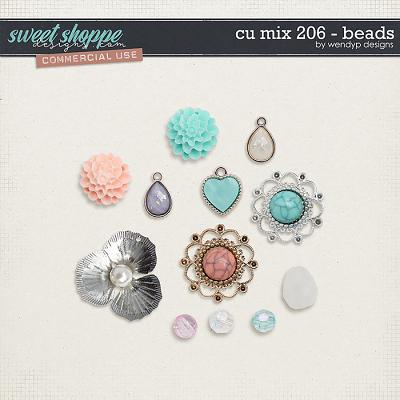CU Mix 206 - beads by WendyP Designs