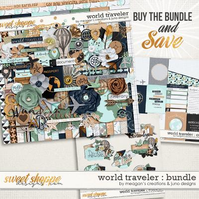 World Traveler : Bundle by Meagan's Creations & Juno Designs