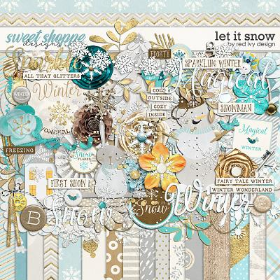Let It Snow by Red Ivy Design