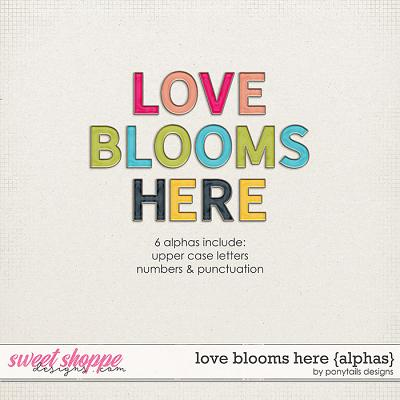 Love Blooms Here Alphas by Ponytails
