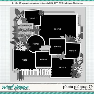 Cindy's Layered Templates - Photo Palooza 79 by Cindy Schneider