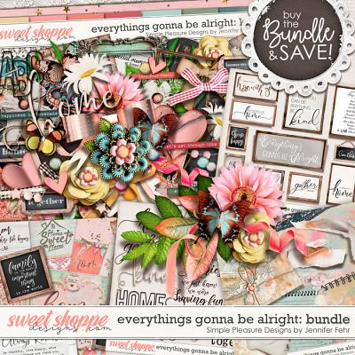 everything's gonna be alright bundle: Simple Pleasure Designs by Jennifer Fehr