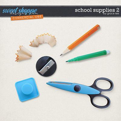 School Supplies 2 by Grace Lee