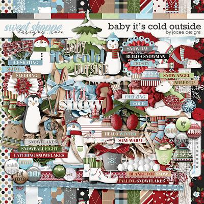 Baby Its Cold Outside Kit by JoCee Designs