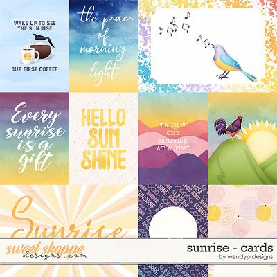 Sunrise - Cards by WendyP Designs