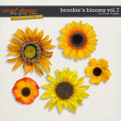Brookie's Blooms Vol.7 - CU - by Brook Magee