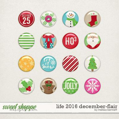 Life 2016-December Flair by Melissa Bennett