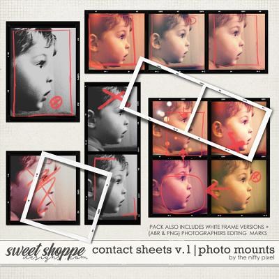 CONTACT SHEETS V.1 | PHOTO PROOFS by The Nifty Pixel