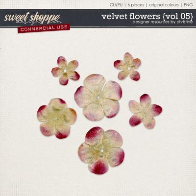 Velvet Flowers {Vol 05} by Christine Mortimer