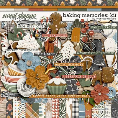 Baking Memories: Kit by River Rose Designs
