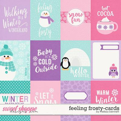 Feeling Frosty Cards by Melissa Bennett