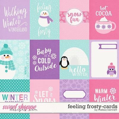 Feeling Frosty Cards by Melissa Bennett
