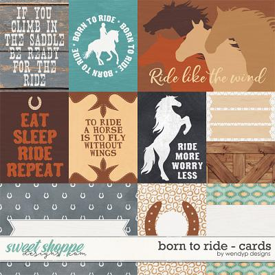 Born to ride - cards by WendyP Designs