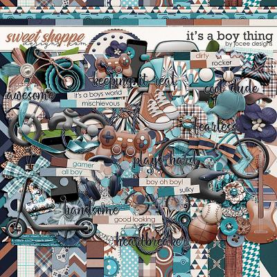 Its a Boy Thing by JoCee Designs