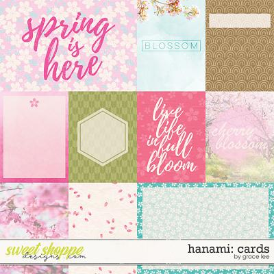 Hanami: Cards by Grace Lee