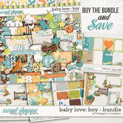 Baby Love {Boy} : Bundle by Meagan's Creations