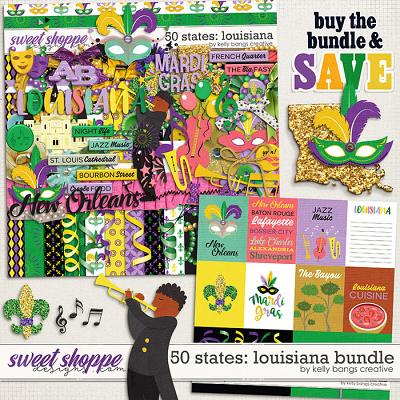 50 States: Louisiana Bundle by Kelly Bangs Creative