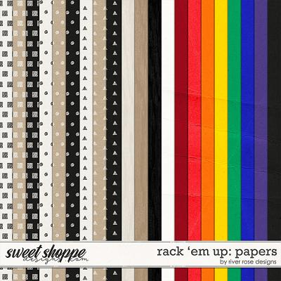 Rack 'Em Up: Papers by River Rose Designs