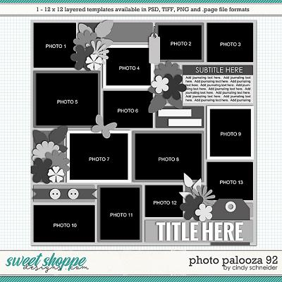 Cindy's Layered Templates - Photo Palooza 92 by Cindy Schneider