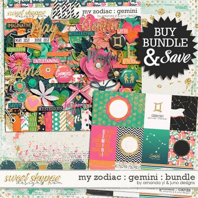 My Zodiac - Gemini : Bundle by Amanda Yi & Juno Designs