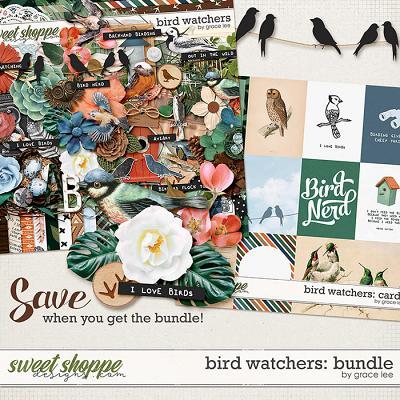 Bird Watchers: Bundle by Grace Lee