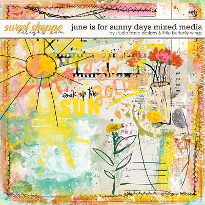 June Is For Sunny Days Mixed Media by Studio Basic