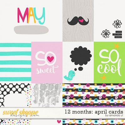 12 Months: May Cards by Amanda Yi