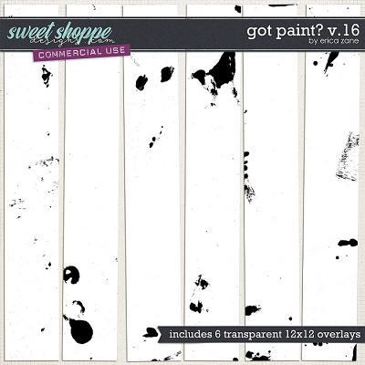 Got Paint? v.16 by Erica Zane