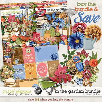 In the Garden Bundle by JoCee Designs