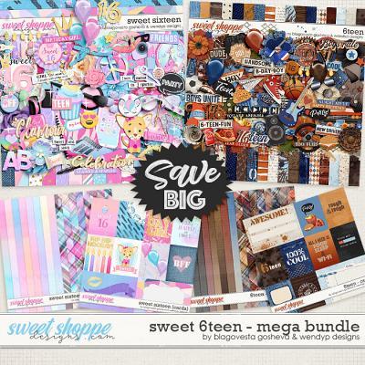 Sweet 6teen {mega bundle} by Blagovesta Gosheva & WendyP Designs
