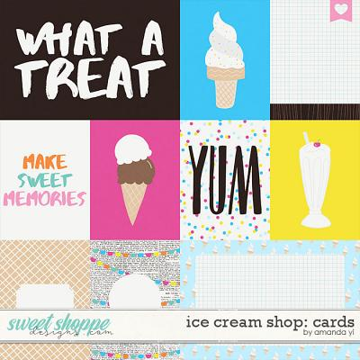 Ice Cream Shop: Cards by Amanda Yi