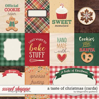 A taste of Christmas {cards} by Blagovesta Gosheva