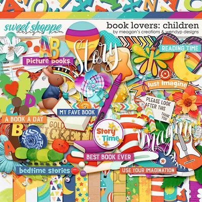 Book Lovers: Children by Meagan's Creations & WendyP Designs