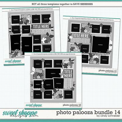 Cindy's Layered Templates - Photo Palooza Bundle 14 by Cindy Schneider