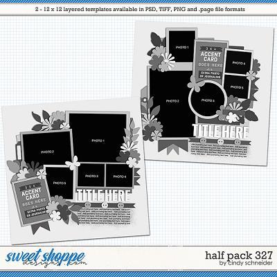 Cindy's Layered Templates - Half Pack 327 by Cindy Schneider
