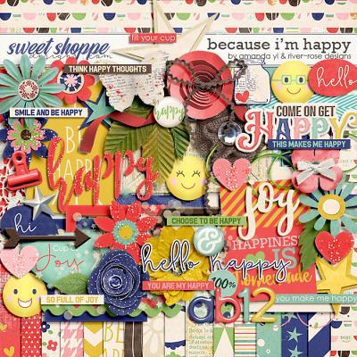 Because I'm Happy by Amanda Yi & River Rose Designs