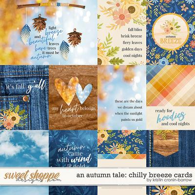 An Autumn Tale: Chilly Breeze Cards by Kristin Cronin-Barrow