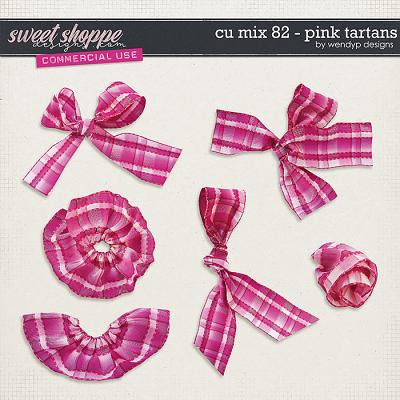 CU Mix 82 - Pink Tartans by WendyP Designs