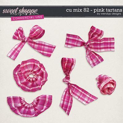 CU Mix 82 - Pink Tartans by WendyP Designs