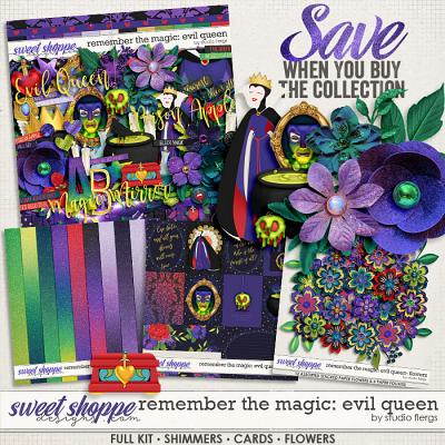 Remember the Magic: EVIL QUEEN- COLLECTION & *FWP* by Studio Flergs