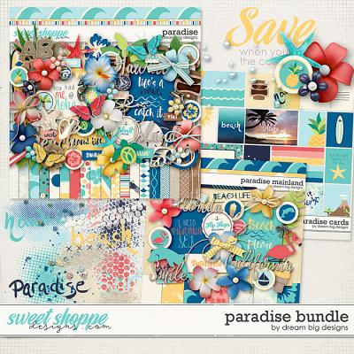 Paradise Bundle by Dream Big Designs