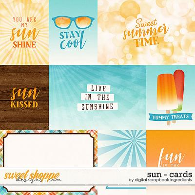 Sun | Cards by Digital Scrapbook Ingredients