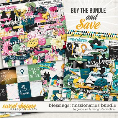 Blessings: Missionaries Bundle by Grace Lee and Meagan's Creations